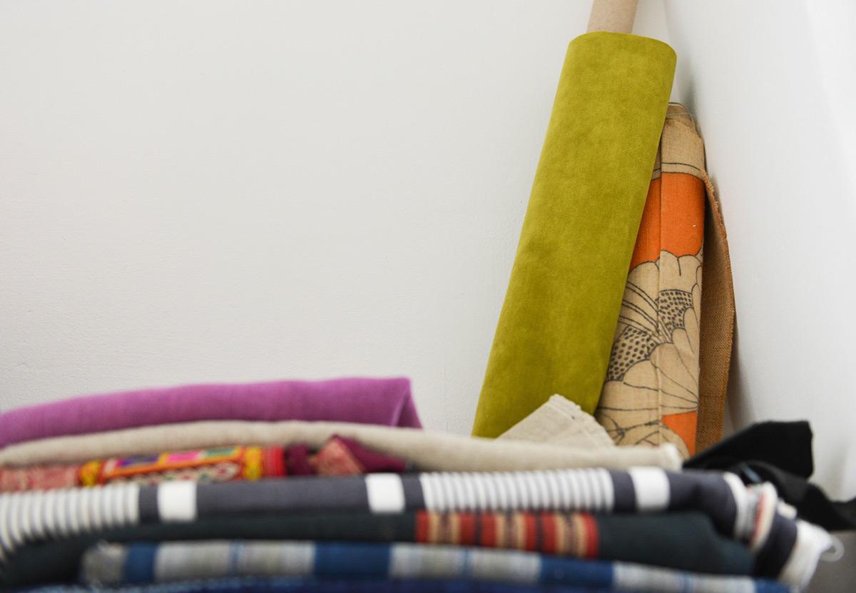 Bouton - atelier de tapisserie
