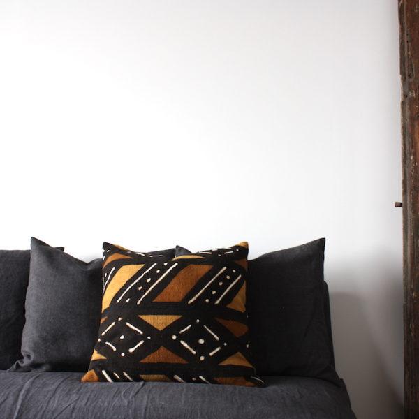 mudcloth cushion